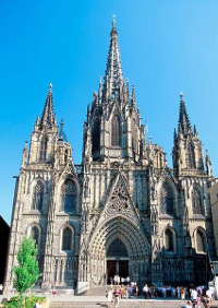 The Medieval Cathedral of Barcelona