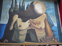 Laberynth by Dali, at the Figueres Dali Museum