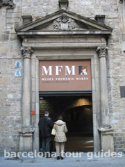 Entrance to the Frederic Mares Museum