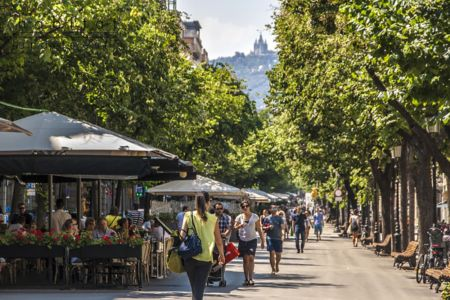 Review of hotel locations in barcelona for Hotel barcellona ramblas