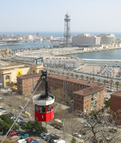 Barcelona Harbour Cable Car
