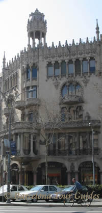 Morera House, Art Nouveau Architecture in Barcelona