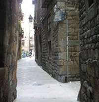 Lanes of the Jewish District